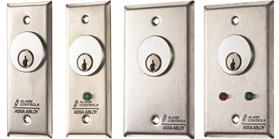 Mortise Cylinder Key Switches