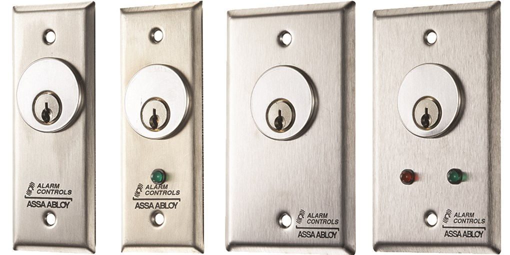 Mortise Cylinder Key Switch Stations